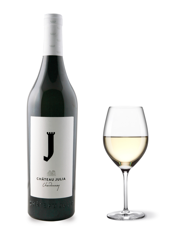 ΚΡΑΣΙ CHATEAU JULIA CHARDONNAY 750ml