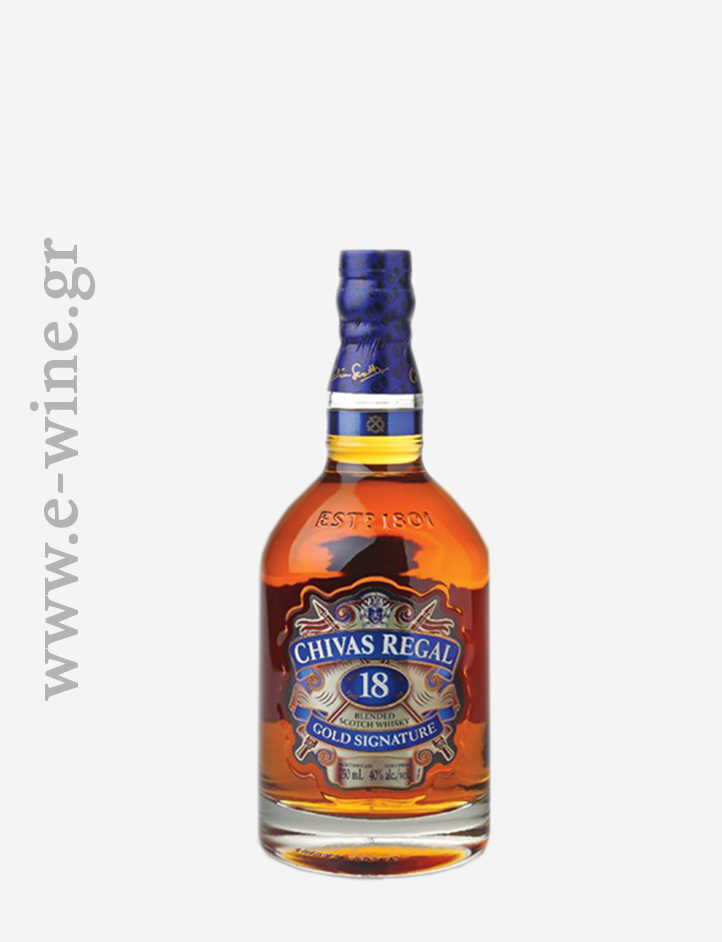 CHIVAS - REGAL 18 ΕΤΩΝ GOLD SIGNATURE